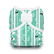 Thirsties Duo Wrap Cloth Diaper Cover, Hook and Loop Closure, Aspen Grove Size One (6-18 lbs)