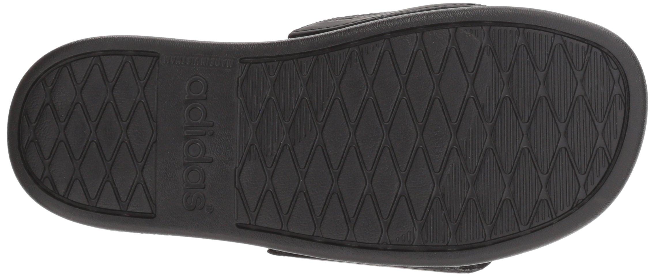 adidas Unisex-Kids Adilette Clf+ K Sandal,core black,White, core black,6 M US Big Kid by adidas (Image #3)