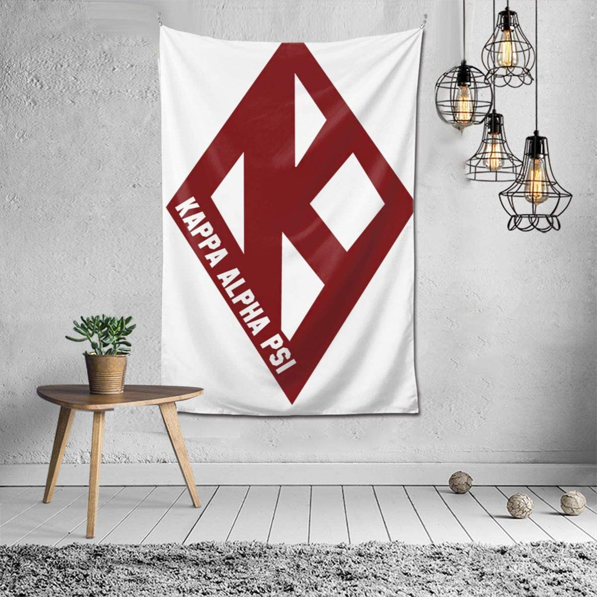 N/C Kappa Alpha Psi Tapestry Living Room Bedroom Decoration College Dorm Curtain Tv Backdrop Table Cloth 40 X 60inch.