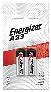 Energizer Alkaline Batteries A23 (2 Battery Count)
