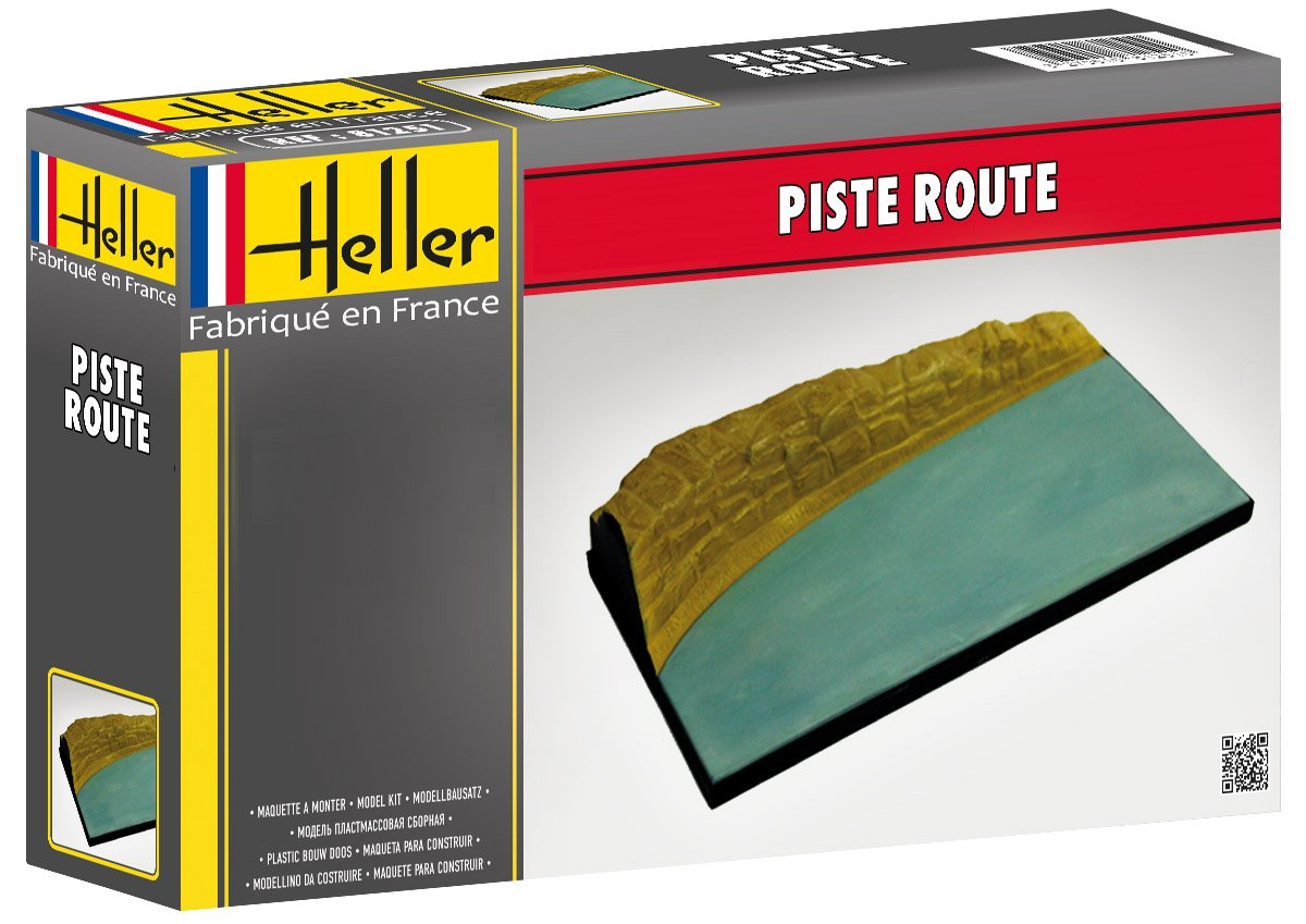 Amazon.com: Heller - 81251 - Piste Route - Echelle 1/43 ...
