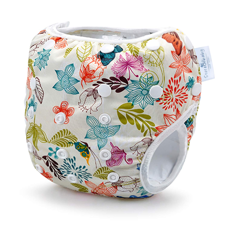 Storeofbaby Baby Swim Diaper Reusable Leak-Proof Adjustable Toddler Swimwear
