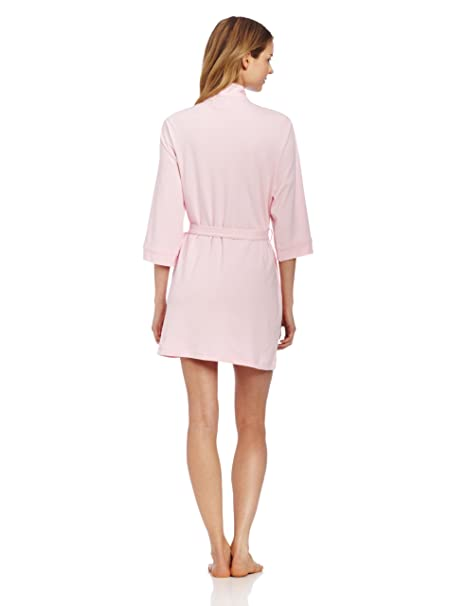 981bcd37ab Seven Apparel 00133 Hotel Spa Collection Kimono Knit Cotton Robe ...