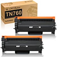 CMYBabee Compatible Toner Cartridge Replacement for Brother TN760 TN730 TN-760 TN-730 for Brother MFC-L2730DW DCP…