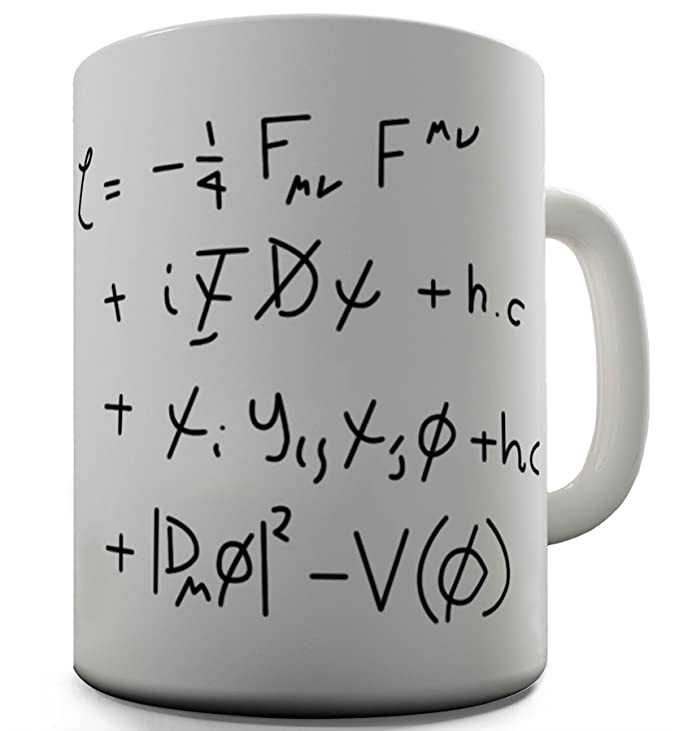 Twisted Envy Standard Model Math Equation Ceramic Novelty Mug:  Amazon.co.uk: Kitchen U0026 Home