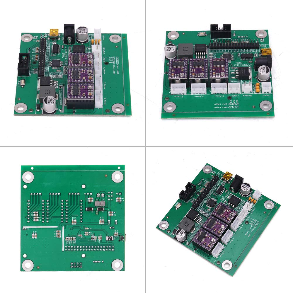3 Axis GRBL 0.9J CNC Control Board for 1610//2418//3018 DIY Laser Engraving Machine USB Connection Avec Offline Controller Pour