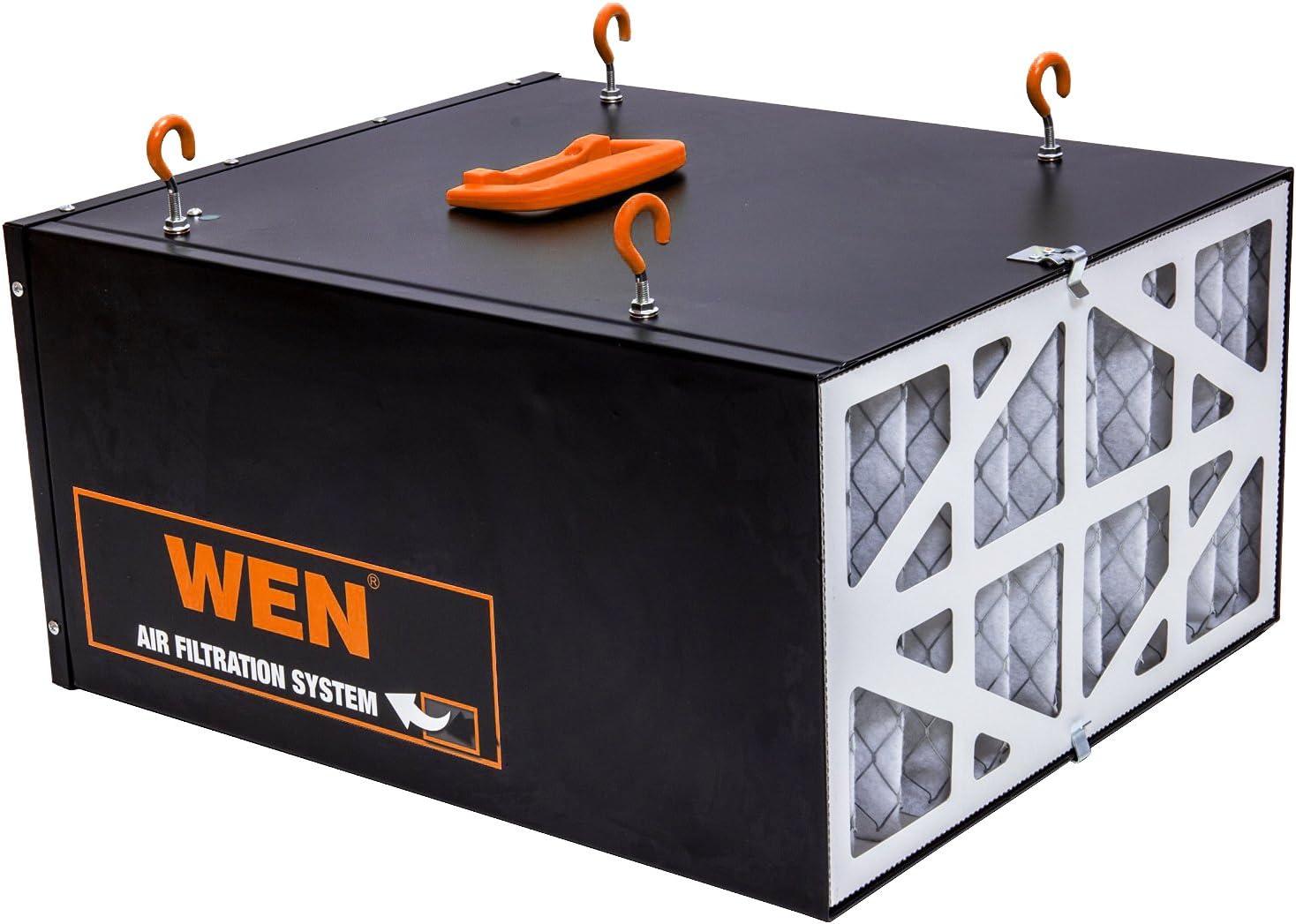 300//350//400 CFM 3-vitesse télécommandé Air système de filtration