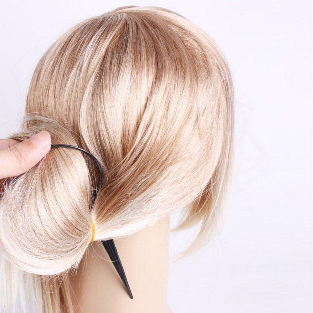H3 2 Stk Topsy Tail Haar Dreher Styler Frisurenhilfe Hair Twister Schlinge Sc 5X