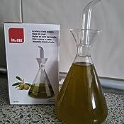 IBILI 755002 - Aceitera Probeta Cristal 250 Ml.: Amazon.es: Hogar