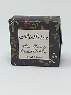 product image for Habersham Candles Mistletoe Vegetable Soap, Shea Butter and Coconut Oil 1.9 OZ