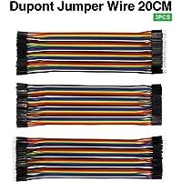 keyestudio Dupont Jumper Kablo 20cm Paket (Erkek-Erkek, Erkek-Dişi, Dişi-Dişi)