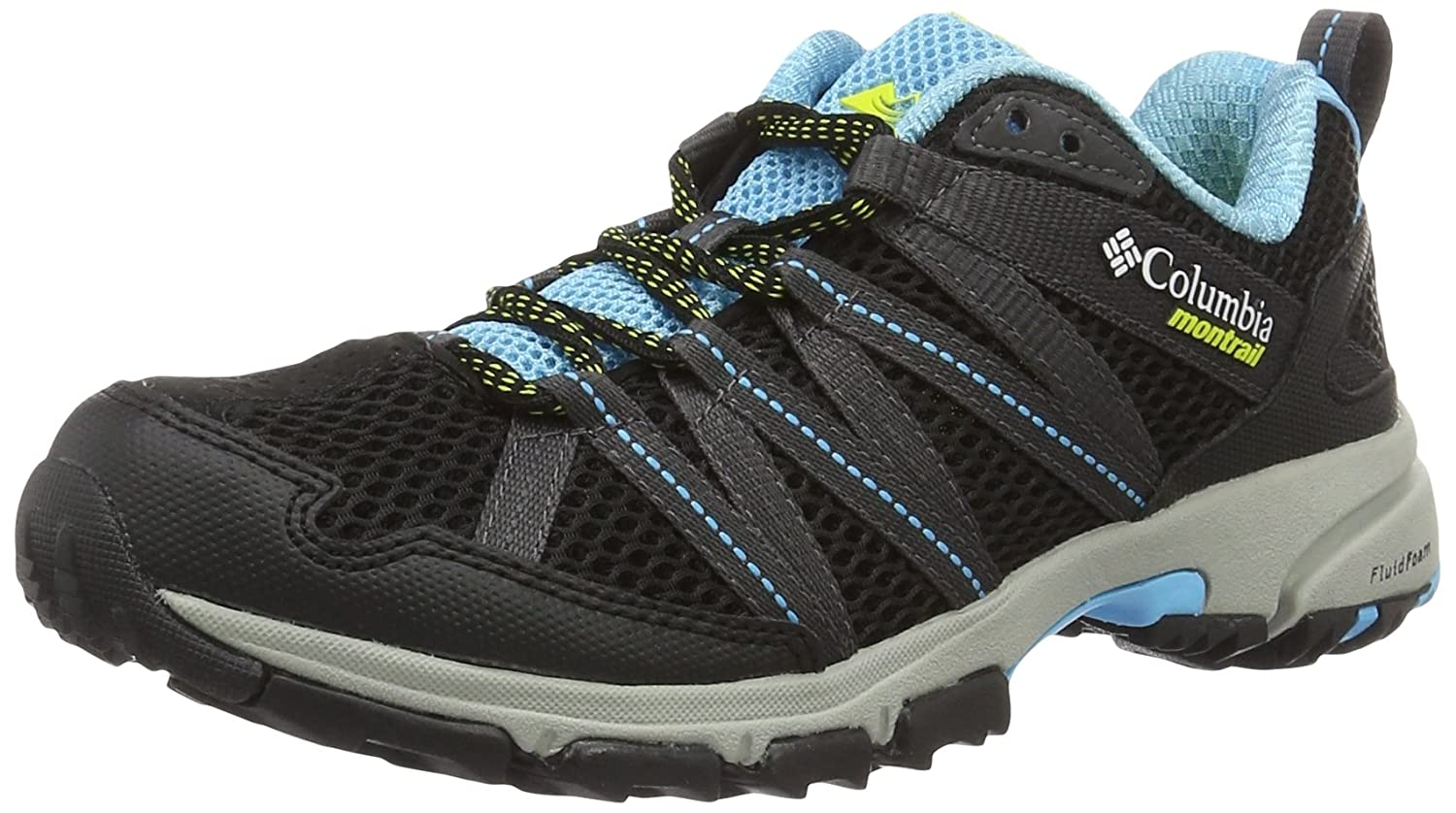 Columbia Montrail Women's Mountain Masochist III Running Shoe B01HCKRAOE 6.5 B(M) US|Bounty Blue, Black