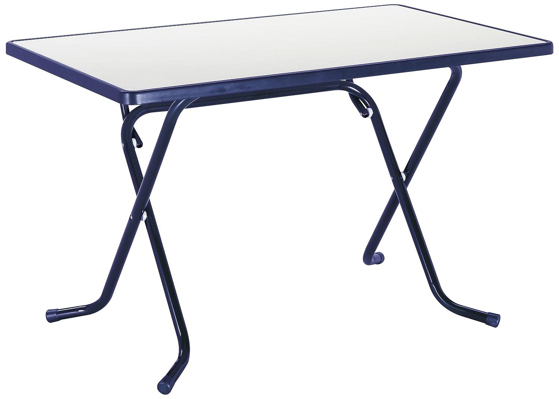 BEST 26521120 Scherenklapptisch Primo eckig 110 x 70 cm, blau