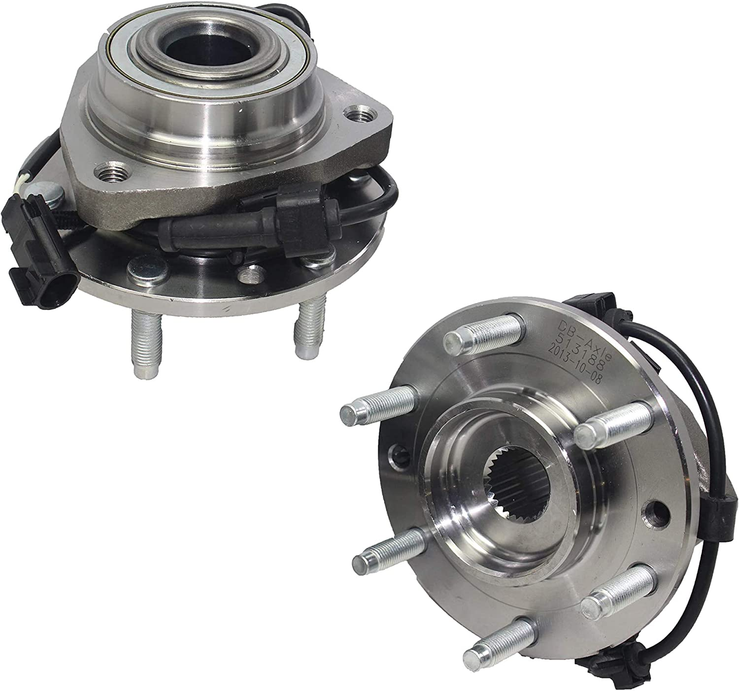 Detroit Axle Front Wheel Bearing Hub Assembly