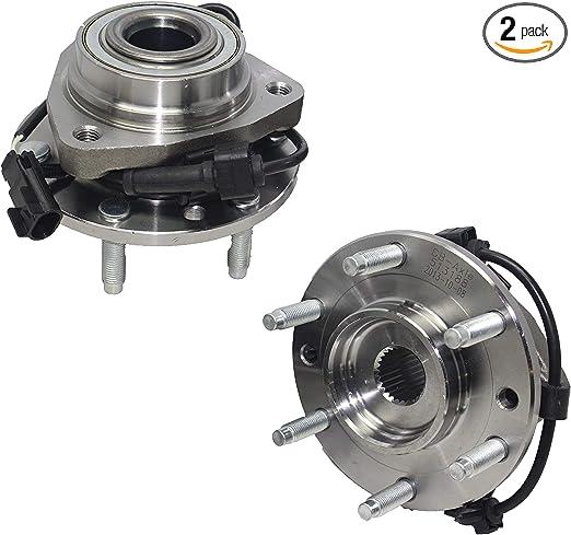 Ruien Axle 515096 4WD Single Front Wheel Hub Bearing Assembly for Buick Chevrolet Isuzu GMC SAAB Trailblazer Envoy 2002-2003 2004 2009
