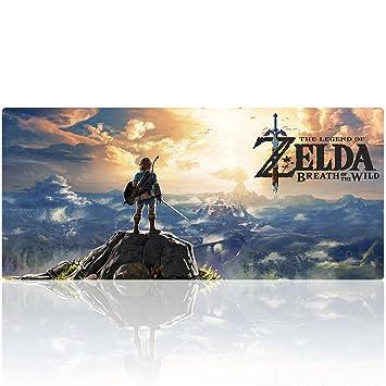 Tapis De Souris The Legend Of Zelda Gaming Xxl Super Grande Taille