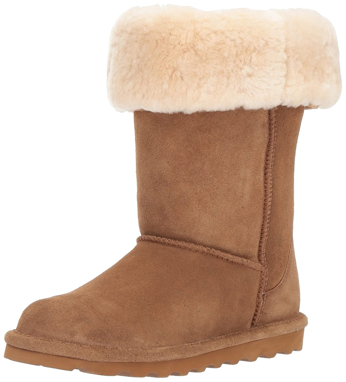 BEARPAW Women's Elle Tall Fashion Boot B06XRSCM71 9 B(M) US|Hickory Ii