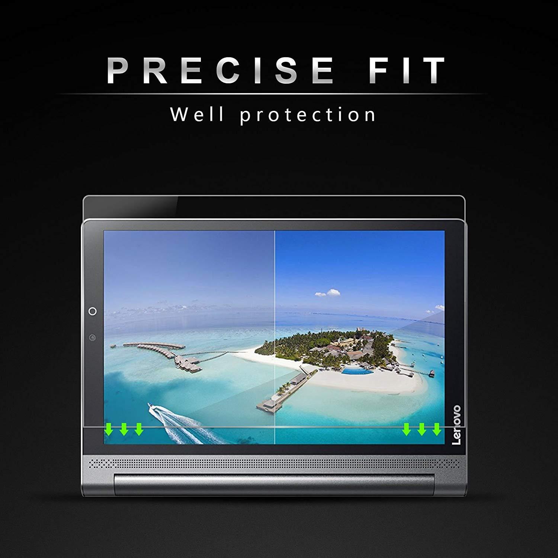 Infiland Lenovo Yoga Tab 3 Plus/Yoga Tab 3 Pro Protector de Pantalla, Premium Protector de Pantalla de Vidrio Templado para Lenovo Yoga Tab 3 10 Plus/Yoga ...