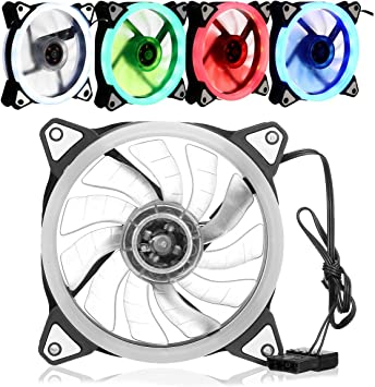 BliliDIY 120Mm Pc Caja De La Computadora Ventilador Enfriador ...