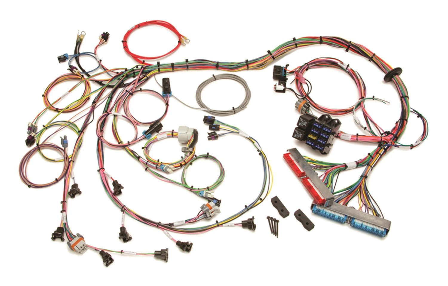 71u3GmDXDSL._SL1500_ amazon com painless 60508 fuel injection standard length wiring painless wiring harness for duramax at eliteediting.co