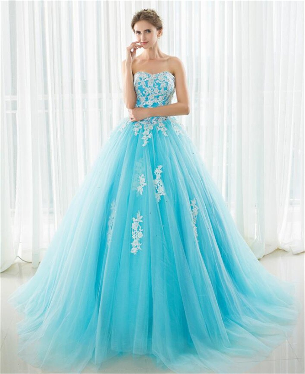 LUCKY-U Vestido De Novia, Vestidos De Dama De Honor del Vestido De ...