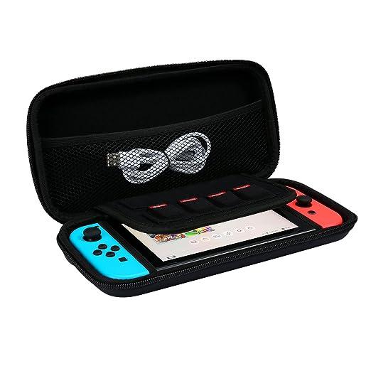 26 opinioni per iAmer Custodia da viaggio per Nintendo Switch, portatile di borsa protettiva