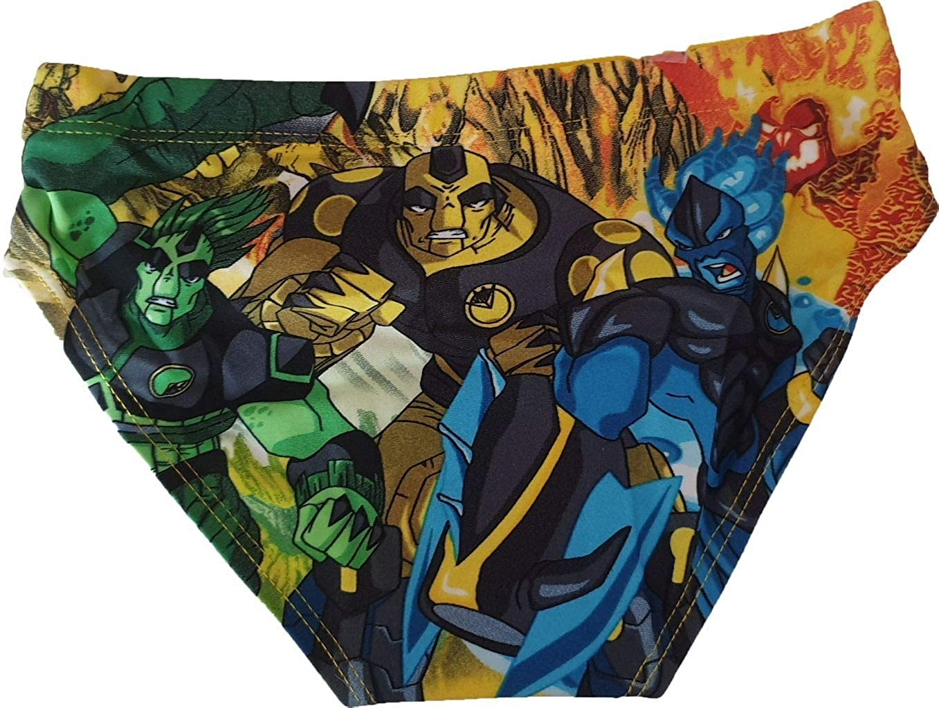 Costume da Bagno a Pantaloncino Gormiti He Invincible Lords of Nature