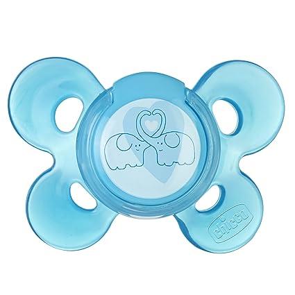 Chicco Physio Chupete Comfort goma esterilizados Box X1 Azul ...