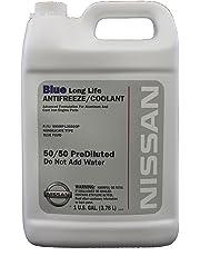 Genuine Nissan Fluid 999MP-L25500P Blue Long Life Antifreeze/Coolant - 1 Gallon