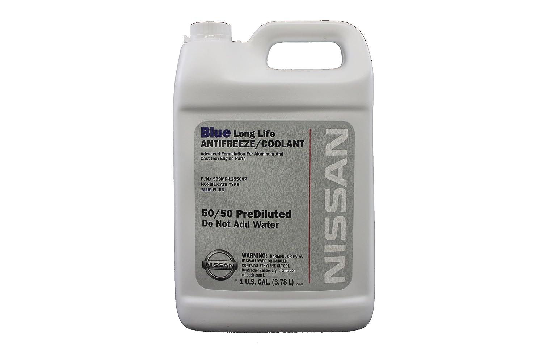 genuine nissan fluid 999mp l25500p blue long life antifreeze coolant 1 gallon vehicles parts. Black Bedroom Furniture Sets. Home Design Ideas