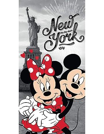 Disney 18TW176 - Toalla de baño (70 x 140 cm), diseño de Minnie