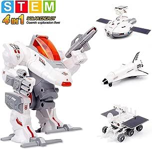 Amazon.com: Sillbird STEM 4-in-1 Solar Science Robot kit ...
