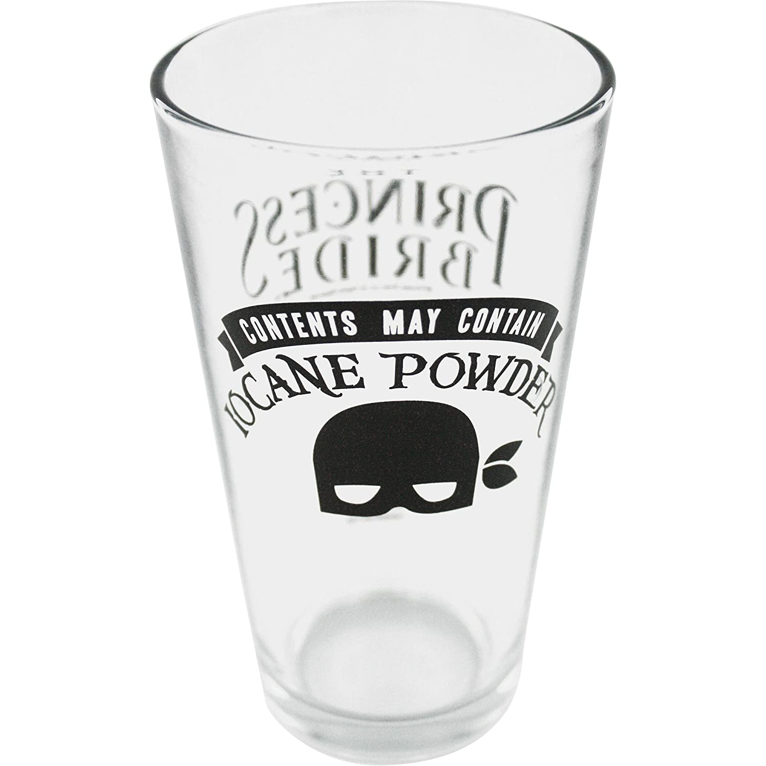 Princess Bride Iocane Powder Pint Glass Ripple Junction PBLG2050