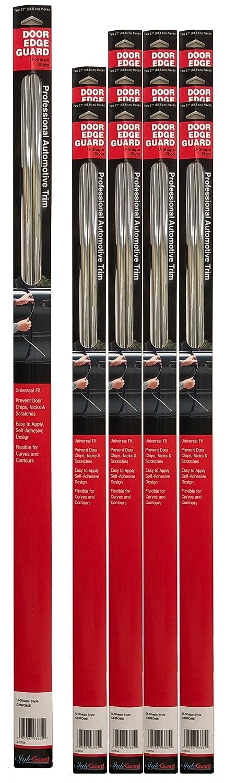 Cowles T4005 Chrome Stick-On-Door Edge