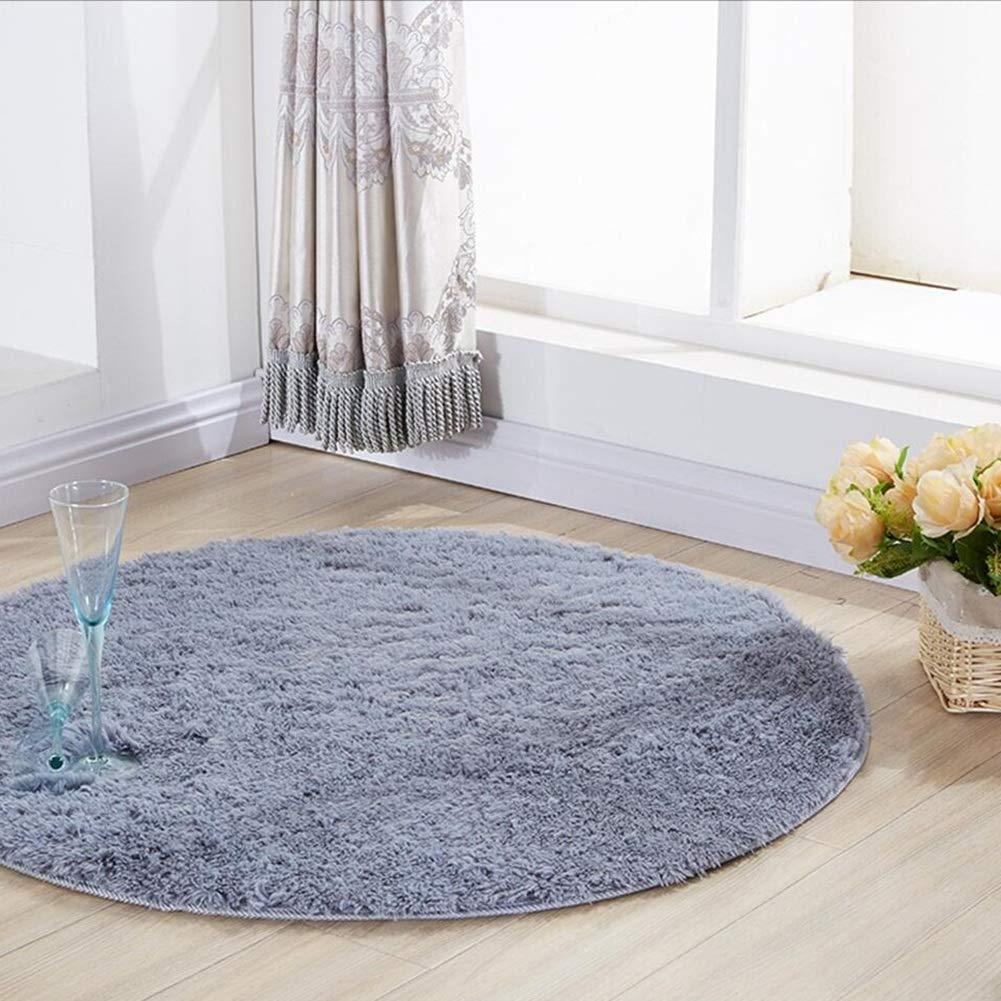 Soft Carpet Pad Good thing carpet//rug Red Rose Round Rug//carpet Living Room Bedroom Bedside Table Cradle Pad Size : Diameter 60cm