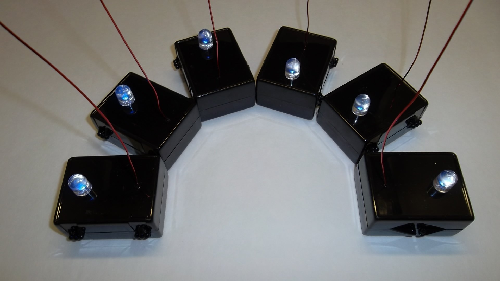 Ghost Detector EMF Array - 6 Pieces by Night Fire