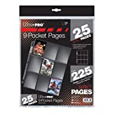 Ultra Pro Silver Series 9-Pocket Pages