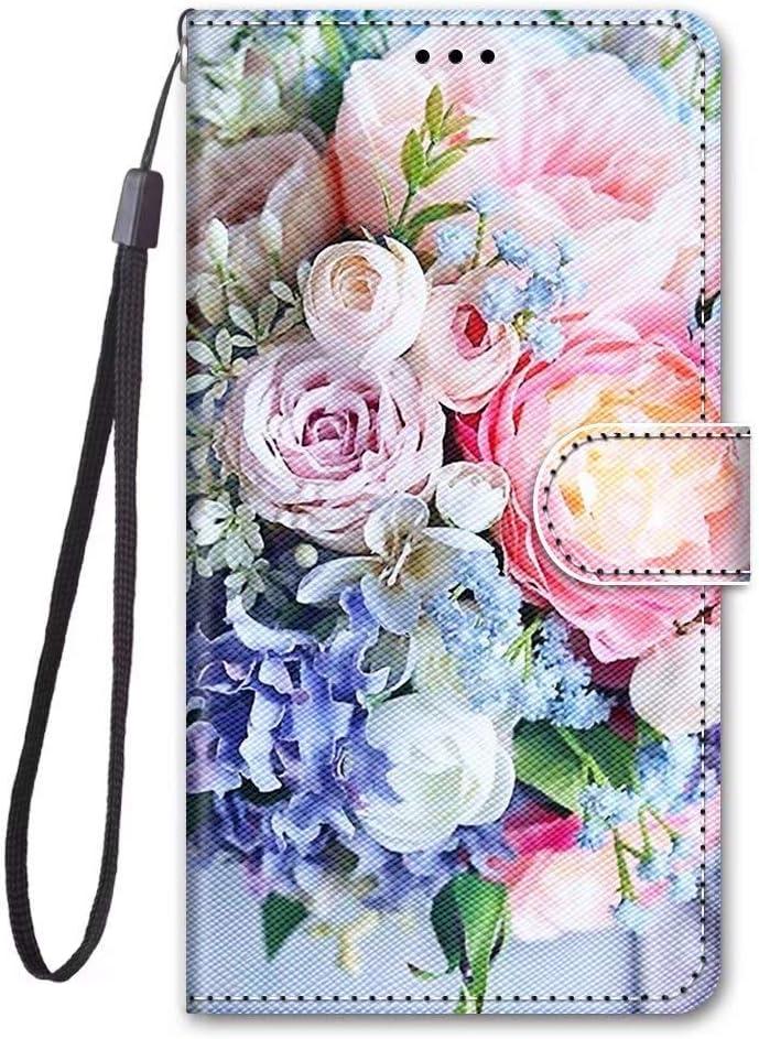 Samsung Galaxy A6 2018 Funda,Samsung Galaxy A6 2018 Piel Billetera Magnética Bumper Protector TPU Suave Silicona Flip Cover con Ranura para Tarjetas Carcasa Samsung Galaxy A6 2018