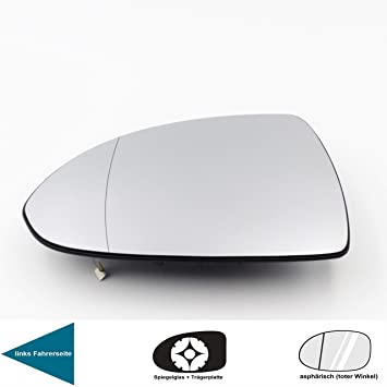 Van Wezel 3750838 Spiegelglas Au/ßenspiegel