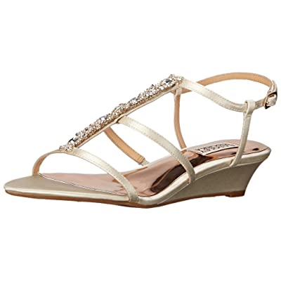 Badgley Mischka Women's Carley Wedge Sandal