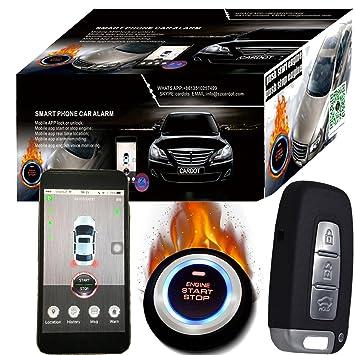 GPS GSM Car alarma y Google Maps sistema de seguimiento por GPS de coches Mobile app