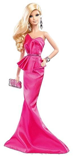 Barbie Muñeca Look con vestido, color rosa (Mattel BCP89): Amazon.es: Juguetes y juegos