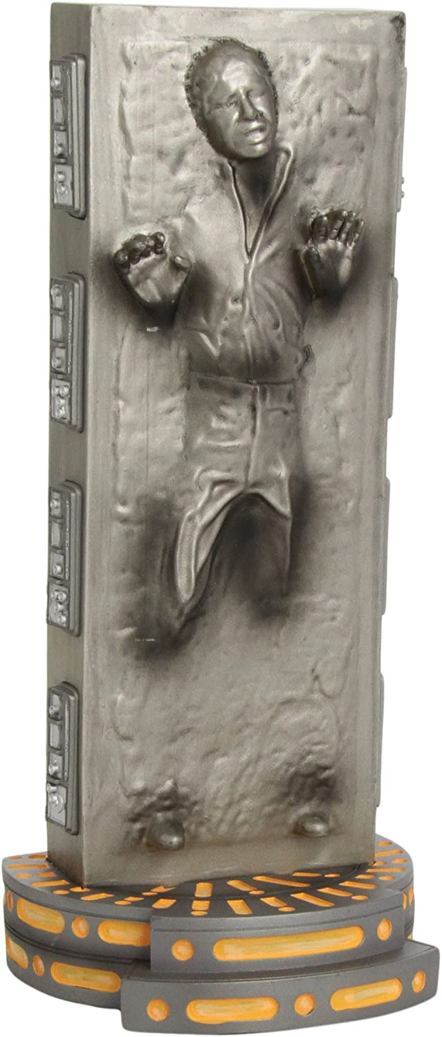 1605843245 Diamond Select Toys Star Wars: Han Solo in Carbonite Vinyl Bank 71u3TOf02BjL