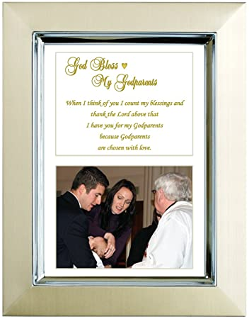Amazon.com : Godparents Gift - Christening or Baptism Gift for ...