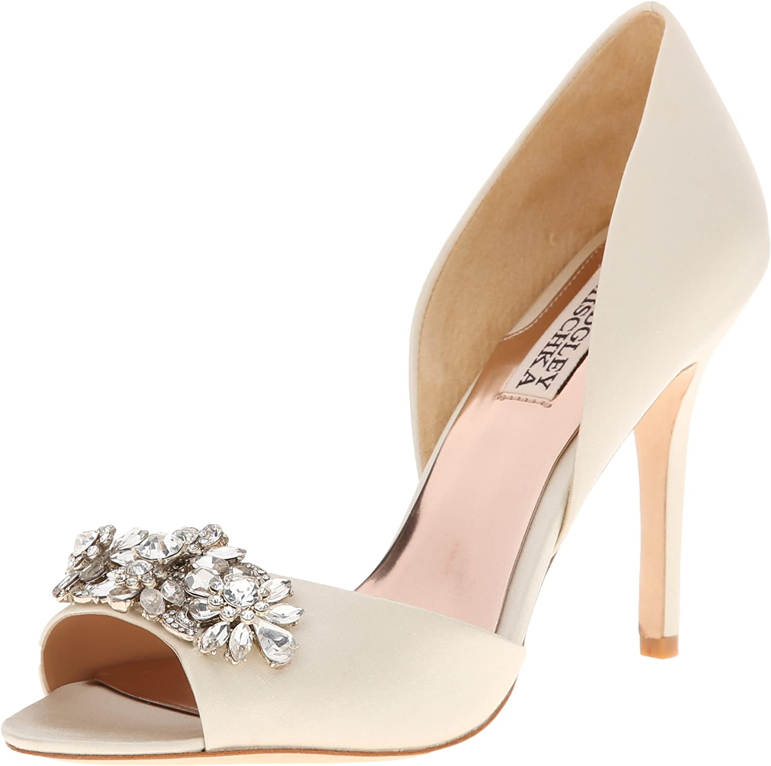Badgley Mischka Womens Giana DOrsay Pump