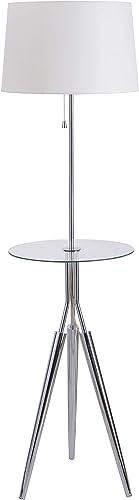 Kenroy Home 30510CH Rosie Floor Lamp