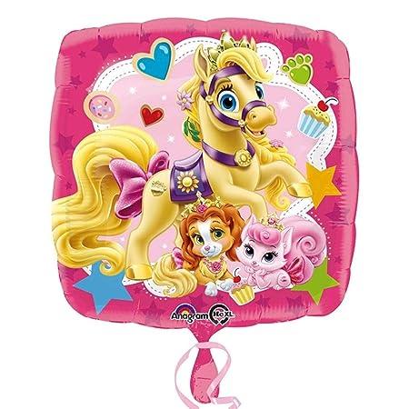 Disney Palace Pets Globo rosa princesas cumpleaños ...