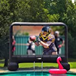 VIVOHOME 20 Feet Indoor and Outdoor Inflatable Blow up Mega Movie
