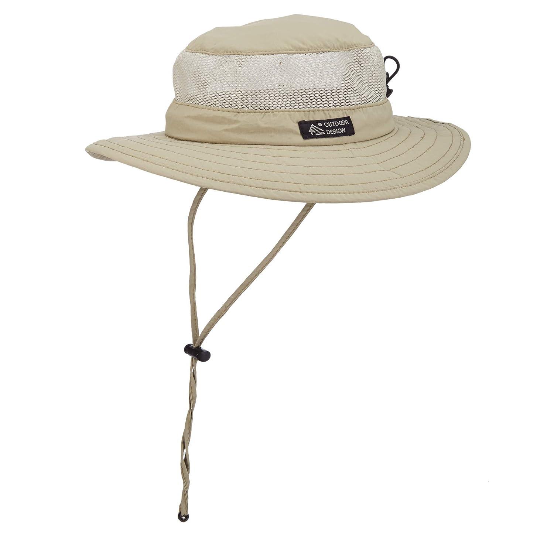 Dorfman Pacific Men's Boonie Mesh Sides Hat