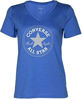 df0ad6605139 Converse Women s Short-Sleeve All-Star Chuck Taylor Patch Graphic T-Shirt  Tee